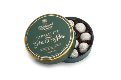 Sipsmith Gin Chocolate Truffles 110g