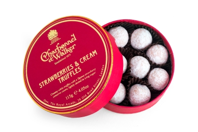 Strawberries & Cream Chocolate Truffles 115g