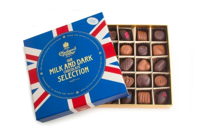 Union Flag Fine Milk and Dark Chocolate Selection 325g