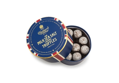 Union Flag Milk Sea Salt Caramel Chocolate Truffles 240g