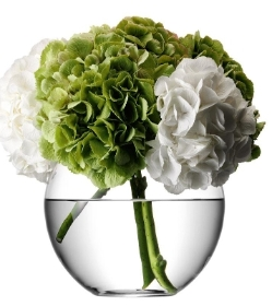 Flower Round Bouquet Vase (H22cm)